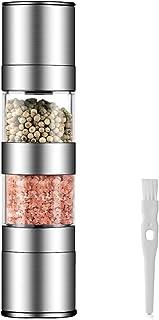 HAUEA Molinillo de Sal y Pimienta 2 en 1, Molinillo de