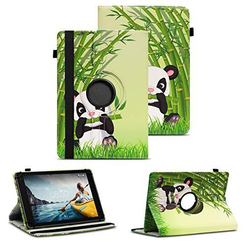 NAUC Tablet Schutzhülle kompatibel für Medion LifeTab P8502 Hülle Tasche Standfunktion 360° Drehbar Cover Universal Hülle, Farben:Motiv 5