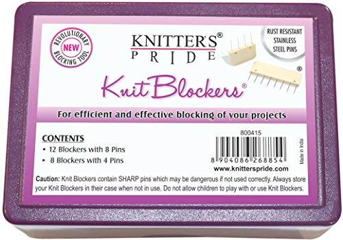 Knitter's Pride Knit Blockers and Pin Kit