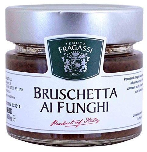 Bruschetta ai funghi 130 gr - Tenuta Fragassi