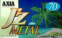 AXIA メタルテープ J'z METAL 70分 ノイズが少ない迫力のサウンド JZMF 70