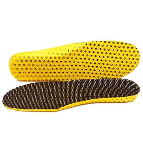 Timetided Sporteinlagen Frauen Männer Schuhe Pad Silikon Dämpfung Weiche Einlegesohlen Atmungsaktiv Absorbieren Schweiß Bergsteiger Schuheinlagen