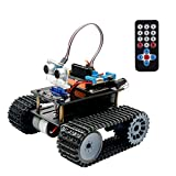 Keywish Smart Robot Car Kit, Panther-Tank Robot for Arduino IDE Project,with BLE Development Board,Ultrasonic Sensor,Great Educational STEM Toys, Support Scratch Library