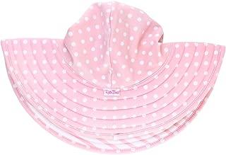 Baby/Toddler Girls UPF 50+ Sun Protective Wide Brim Swimwear Sun Hat