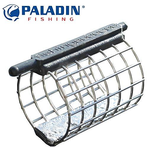 Paladin Inline Futterkorb - Feederkorb zum Friedfischangeln, Feeder zum Angeln auf Barbe, Brasse & Rotauge, Inlinefeeder, Gewicht:80g