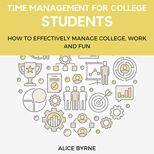 Time Management for College Students audiobook cover art