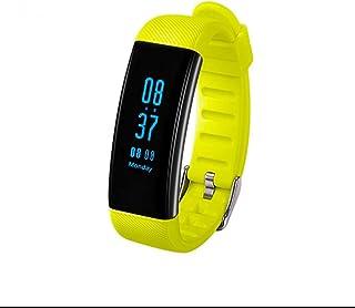 Pulsera Deportiva con Notificación de Mensaje SMS,Pulseras Actividad,Monitor de Actividad,Monitor de Calorías,Fitness Tracker con Pódometro,Bluetooth para IOS y Android