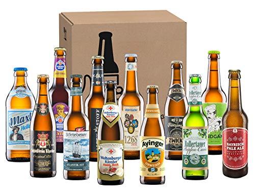 Kalea | ausgewählte Bierspezialitäten im Probierpaket | Biere von Privatbrauereien | Geburtstags-Geschenk für Männer (12 x 0,33 l)