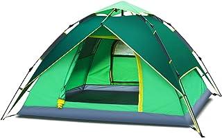 IDWOI-tält utomhustält 3-4 personer camping bergsbestigning regntät helautomatisk snabb öppning