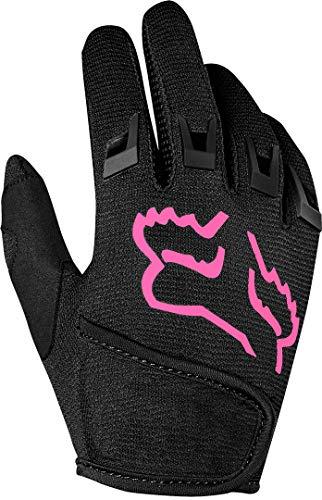 FOX Dirtpaw Handschuhe Jugend Black/pink Handschuhgröße M 2020 Fahrradhandschuhe