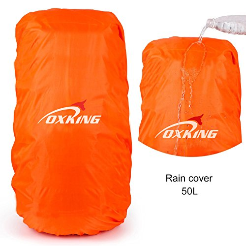 Oxking 50 Liter Outdoor Sports Hiking Climbing Camping Backpack Waterproof Professional...