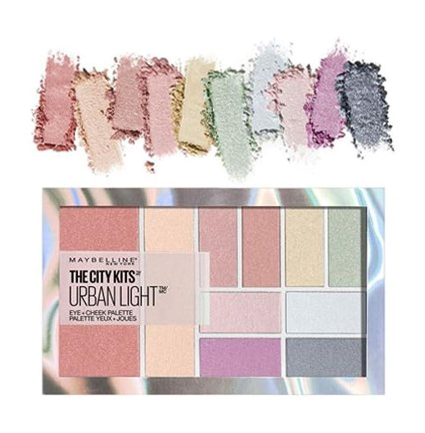 無視するエンゲージメントメイド(6 Pack) MAYBELLINE The City Kits Eye + Cheek Palette - Urban Light (並行輸入品)