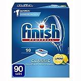 Finish Pastiglie Lavastoviglie Classic, Limone, 90 Tabs
