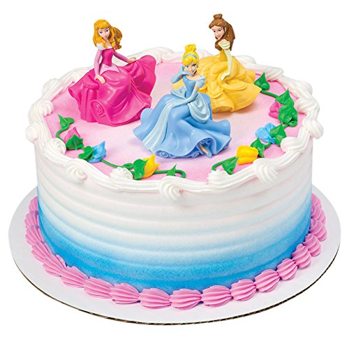 DecoPac Disney Princess Once Upon A Moment DecoSet Cake Topper