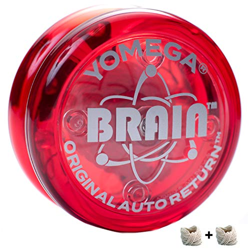 Yomega The Original Brain - Professional Yoyo For Kids And Beginners, Responsive Auto Return Yo Yo...