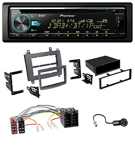caraudio24 Pioneer DEH-X7800DAB DAB MP3 CD USB Bluetooth Autoradio für Cadillac Cts 2003-2006 SRX 2004-2005