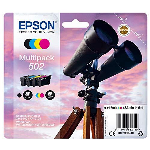 Epson C13T02V64020 Multipack 4-colours 502 Ink