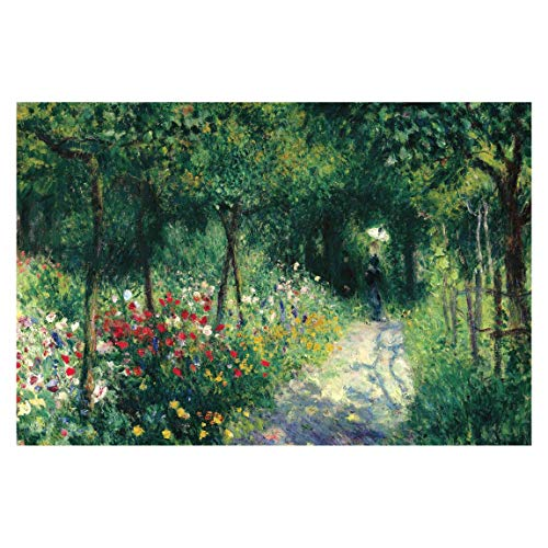 Vliestapete Auguste Renoir - Frauen im Garten Vlies Fototapete 190cm x 288cm