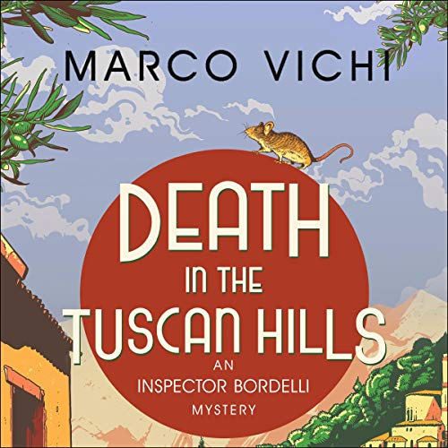 Death in the Tuscan Hills audiobook cover art