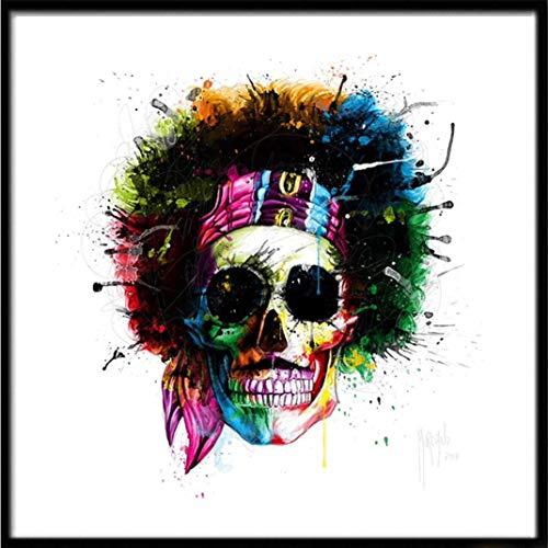 Longra 5D Halloween borduurwerk, kruissteek, borduurwerk, strass, om zelf te maken, diamant schilderen, embroidery paintings strassteentjes, schilderijen, decoratie van het huis Eén maat Een