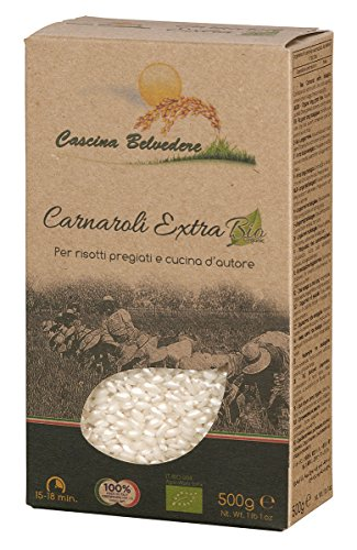 Cascina Belvedere Riso superfino - Bio - Risotto-Reis Carnaroli aus Italien/Piemont (1 x 0.5 kg)