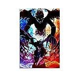 SSWQ Anime-Poster Black Clover Canvas Art Poster Picture