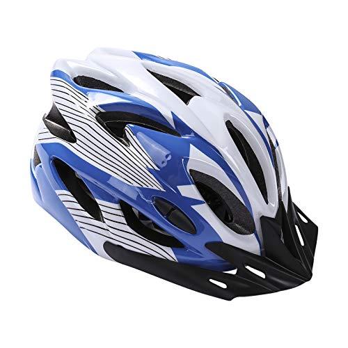 Fahrradhelm, Mountainbike Fahrradhelme Erwachsene Fahrradhelm Verstellbar Radhelm mit Abnehmbarem Visier MTB City Specialized Fahrradhelm Geländefreier Rennrad Fahrradhelm für Männer Frauen (Weiß)