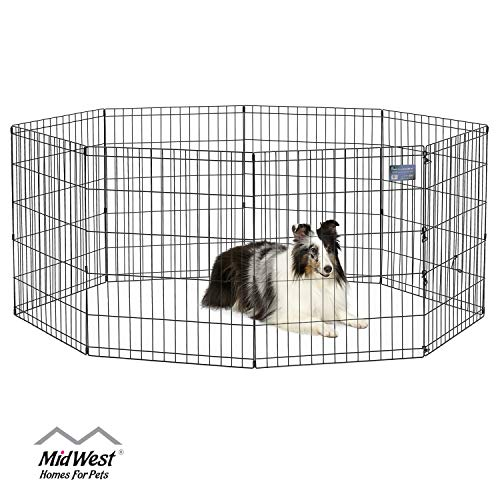 MidWest 552-30 Foldable Metal Exercise Pen / Pet Playpen, 24 W x 30 H Inch