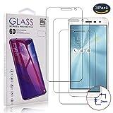 pinlu [3 Unidades Película Protectora para ASUS Zenfone 3 ZE552KL (5.5inch), película de Vidrio Transparente, Vidrio de protección de dureza 9H, 99% de Transparencia, Pantalla HD