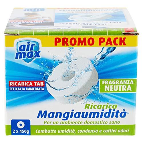 AIRMAX Mangiaumidatà Ricarica Tab Neutra 2 X 450Gr