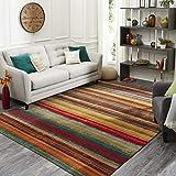 Mohawk Home Multicolor New Wave Boho Stripe Area Rug (6'x9')