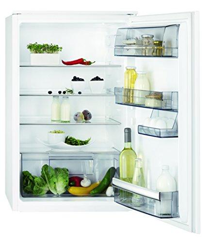 AEG SKB58821AS Kühlschrank / Kühlschrank ohne Gefrierfach / 142 l Kühlraum / kleiner Einbaukühlschrank mit verstellbaren Tür- und Glasablagen / vollautomatisches Abtauen / A++ / H: 88 cm