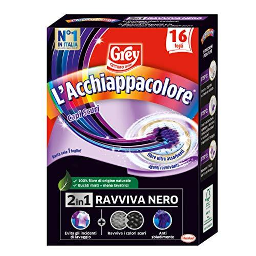 Grey Grey Splendinero - Hojas para reavivar la intensidad de la ropa negra, 16 hojas, 30 g