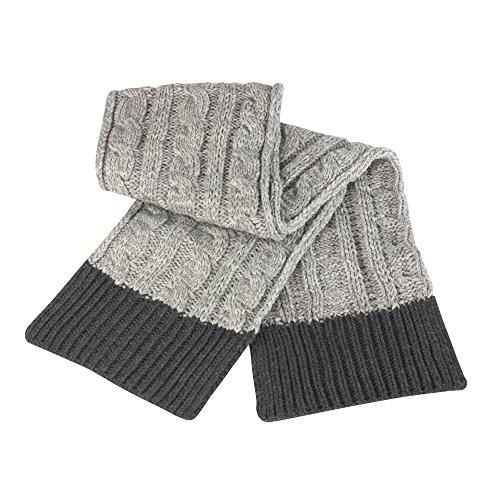 Result - Echarpe tricotée - Adulte unisexe (Taille unique) (Gris)