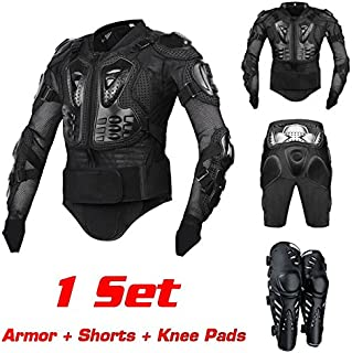 B Blesiya Protective Armor Pants M Heavy Duty Body Protective Shorts Motorcycle Bicycle Ski Armour Pants for Men /& Women