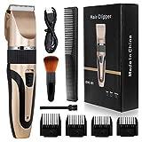 ENONEO Profi Haarschneidemaschine Herren USB Elektrisch Haarschneider Set mit 7 Zubehör + 9...