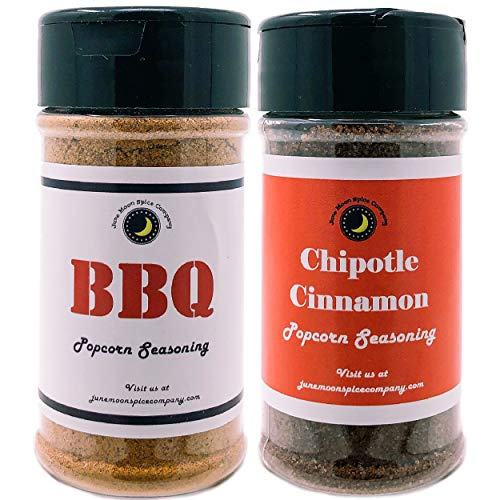 Great Features Of Premium | POPCORN SEASONING | Variety 2 Pack | Chipotle Cinnamon Popcorn Seasoning...