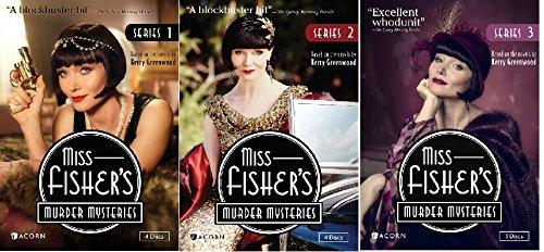 Miss Fisher's Murder Mysteries Series 1-3