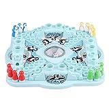 Fácil de jugar, creativo tablero de dados de escritorio, juego de interacción familiar, juego de mesa familiar de 1 pieza, juego de mesa de pingüinos, para niños mayores de 4 años