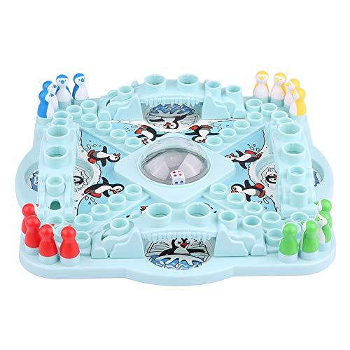 Atyhao Pinguine Brettspiel Kids Toys Desktop Würfel Brettspiel Wettbewerb Vaterschaft Interaktives Spiel Spielen Sie mit Freunden Ihrer Klassen kameraden