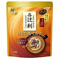 片岡物産 辻利 ほうじ茶ミルク ショコラ仕立て 180g×12袋入×(2ケース)