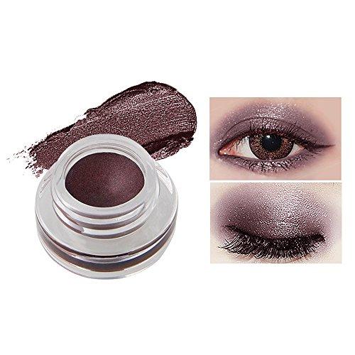 Fards à paupières gel,15 couleurs Imperméable à l'eau eyeliner gel eye liner-Lonshell (06#)