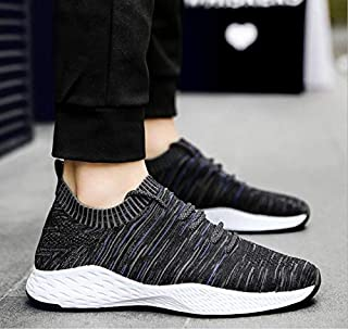 BEESCLOVER New Listing hot Sale Spring and Summer Men Flying Breathable Running Shoes Sports Shoes