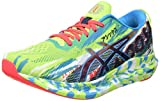 Asics Gel-Noosa Tri 13, Road Running Shoe Hombre, Hazard Green/Digital Aqua, 42.5 EU
