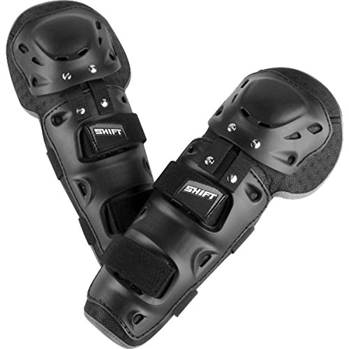 SHIFT Racing Enforcer Adult Knee/Shin Guard Dirt Bike Motorcycle Body Armor - Black/One Size