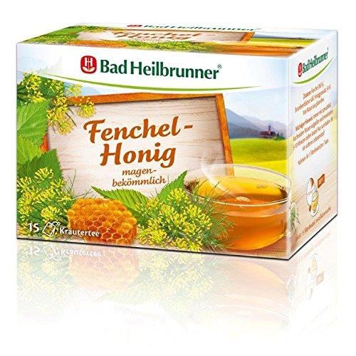 Bad Heilbrunner Fenchel-Honig Tee, 3er Pack (3 x 30 g)
