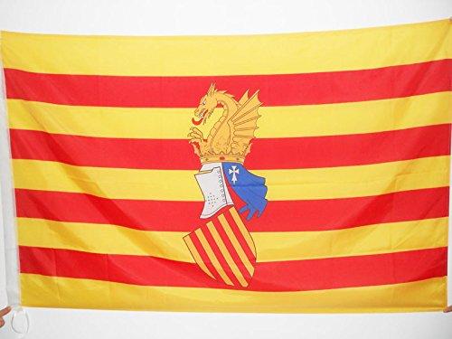 AZ FLAG Bandera del Consejo del PAÍS Valenciano 90x60cm para Palo - Bandera Antigua Comunidad Valenciana - Valencia 60 x 90 cm