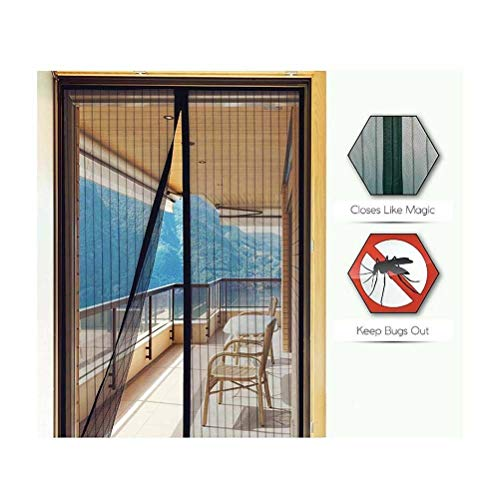 Pantalla de metal mosca de la cortina de puerta ciega de insectos, la pantalla de la puerta de insecto de la mosca magnético con los contactos del empuje cortina del acoplamiento de la pantalla Fácil