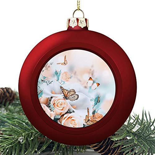 SUPNON Bouquet for The | Christmas Ball Ornaments 2020 Christmas Pendant Personalized Creative Christmas Decorative Hanging Ornaments Christmas Tree Ornament №SW160211