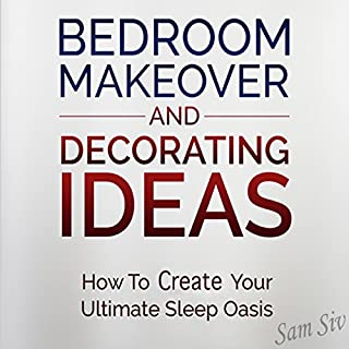 Bedroom Makeover and Decorating Ideas audiobook cover art